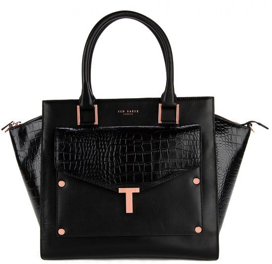 @Ted Lee Lee Baker tote and clutch in one