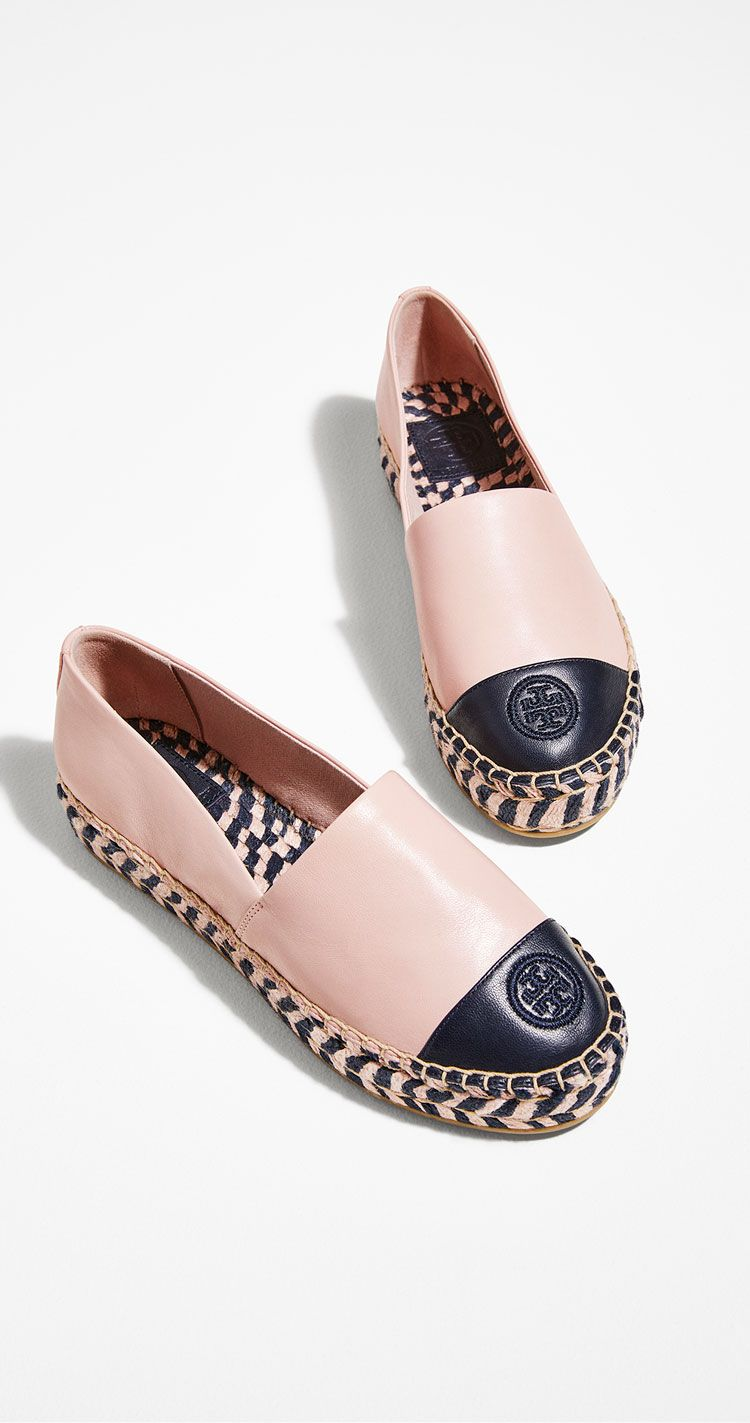 2faccd736 Tory Burch COLOR-BLOCK PLATFORM ESPADRILLE in 2019