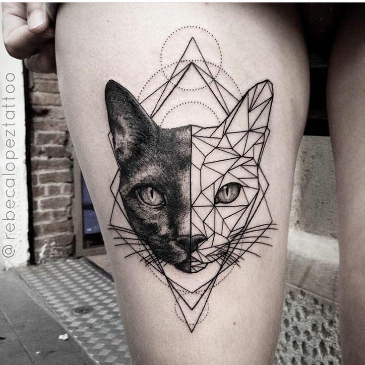 Geometric Tattoo Rebecalopeztattoo Citas Bookings Info Goldstreetbc Barber Dts Barber Dt Desenhos De Tatuagem De Gato Tatuagem Inspiradora Designs De Tatuagem