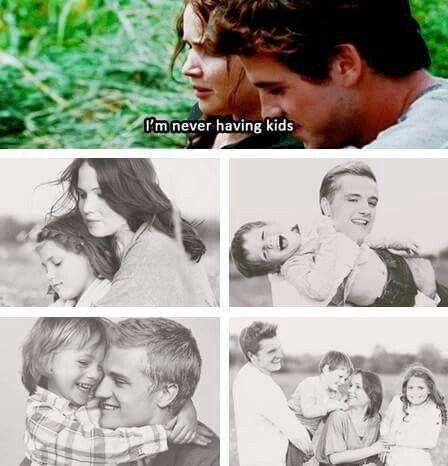 Peeta és a gyerekei