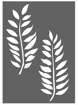 Little Ash Leaf Stencil Leaf Stencils No Leaf Stencil
