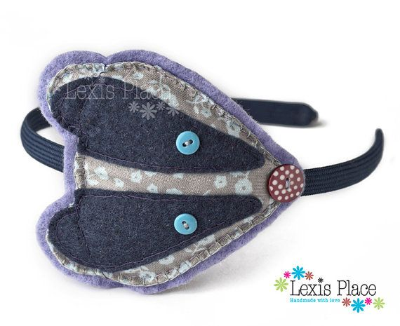Bonnie Badger Hairband by LexisPlaceUK on Etsy