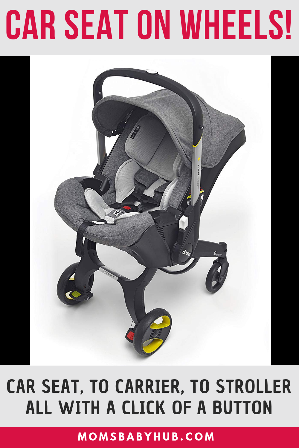 Doona Infant Car Seat Really Has A Wide Array Of Features That Make It Stand Out