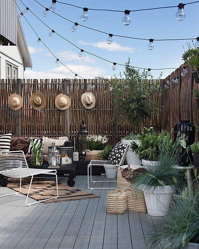FARBSCHEMA BALKON | Garden | Kleine terrasse design, Balkon ...
