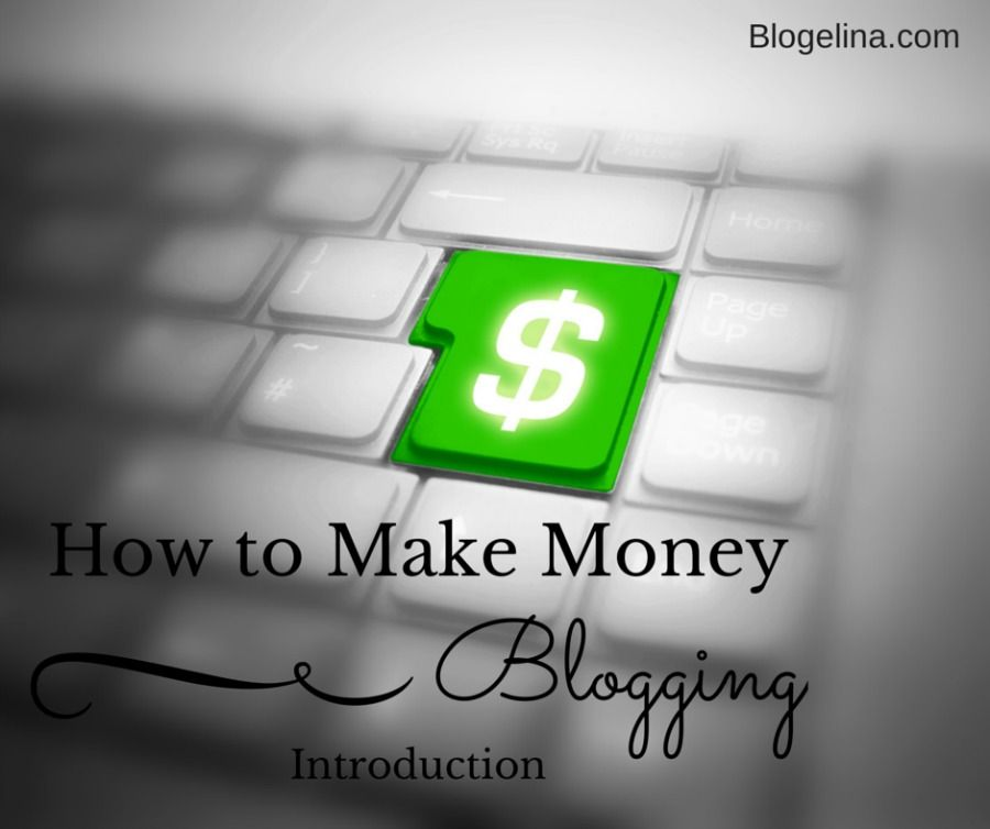 How to Make Money Blogging - Introduction - Blogelina