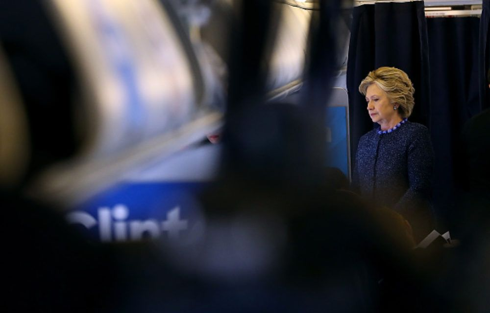 CHILLING: As FBI reopens Hillary case, LOOK what happens on campaign plane... - Allen B. West - AllenBWest.com