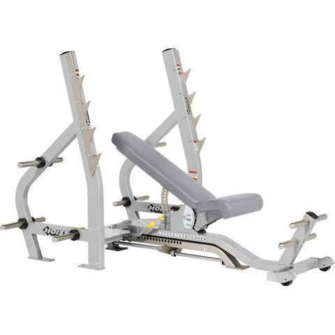 Hoist Cf 2179 3 Way Olympic Fid Bench Incline Decline Bench Gym No Equipment Workout