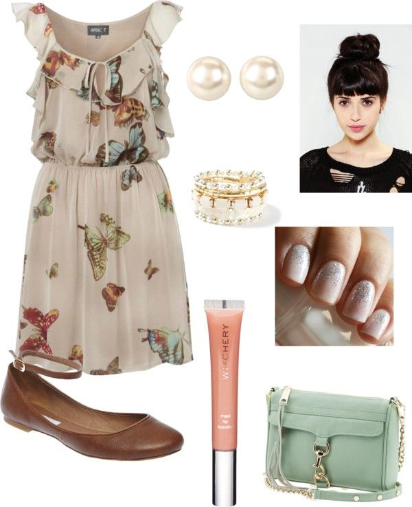 """Love those flats"" by victoria-lessard on Polyvore"