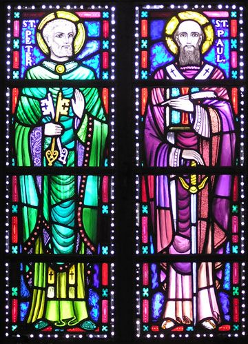 dispensation from a religious law | The Stained Glass Windows of St