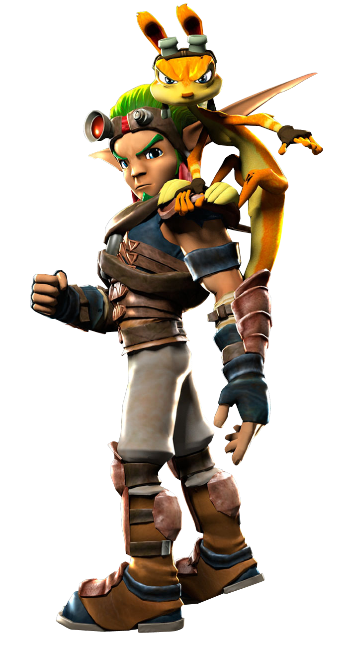 Playstation All Stars Br Jak And Daxter By Acdramon Deviantart Com Jak Daxter Video Games Ps4 Video Game Characters