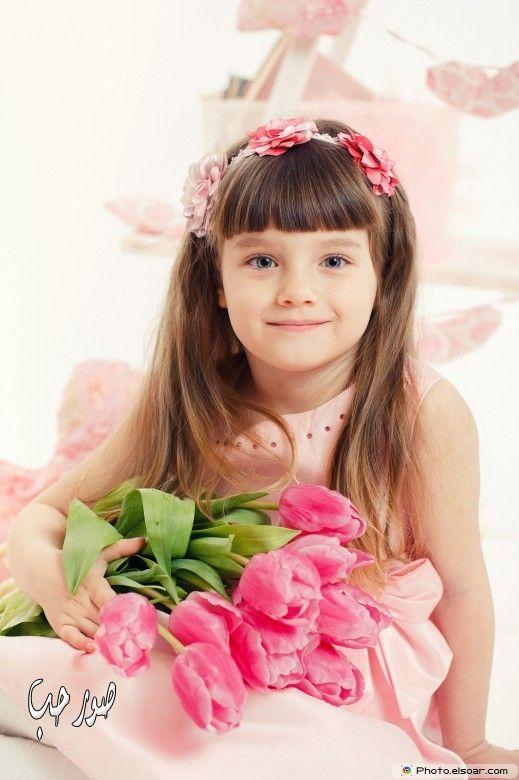 صورة اجمل طفلة صور بنات كيوت روعة بنوتة هادية رومانسية جميلة Girls With Flowers Beautiful Little Girls Beautiful