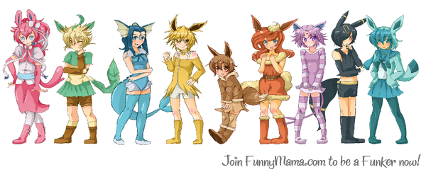 Eevee's human form ^^ | Inspiration | Pinterest | Pokémon and Anime