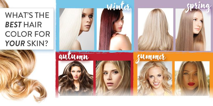 This Awesome Infographic Tells You Exactly What Hair Color Is Best For Your Skin Tone Cool Hair Color What Hair Colour Suits Me Hair Color Quiz