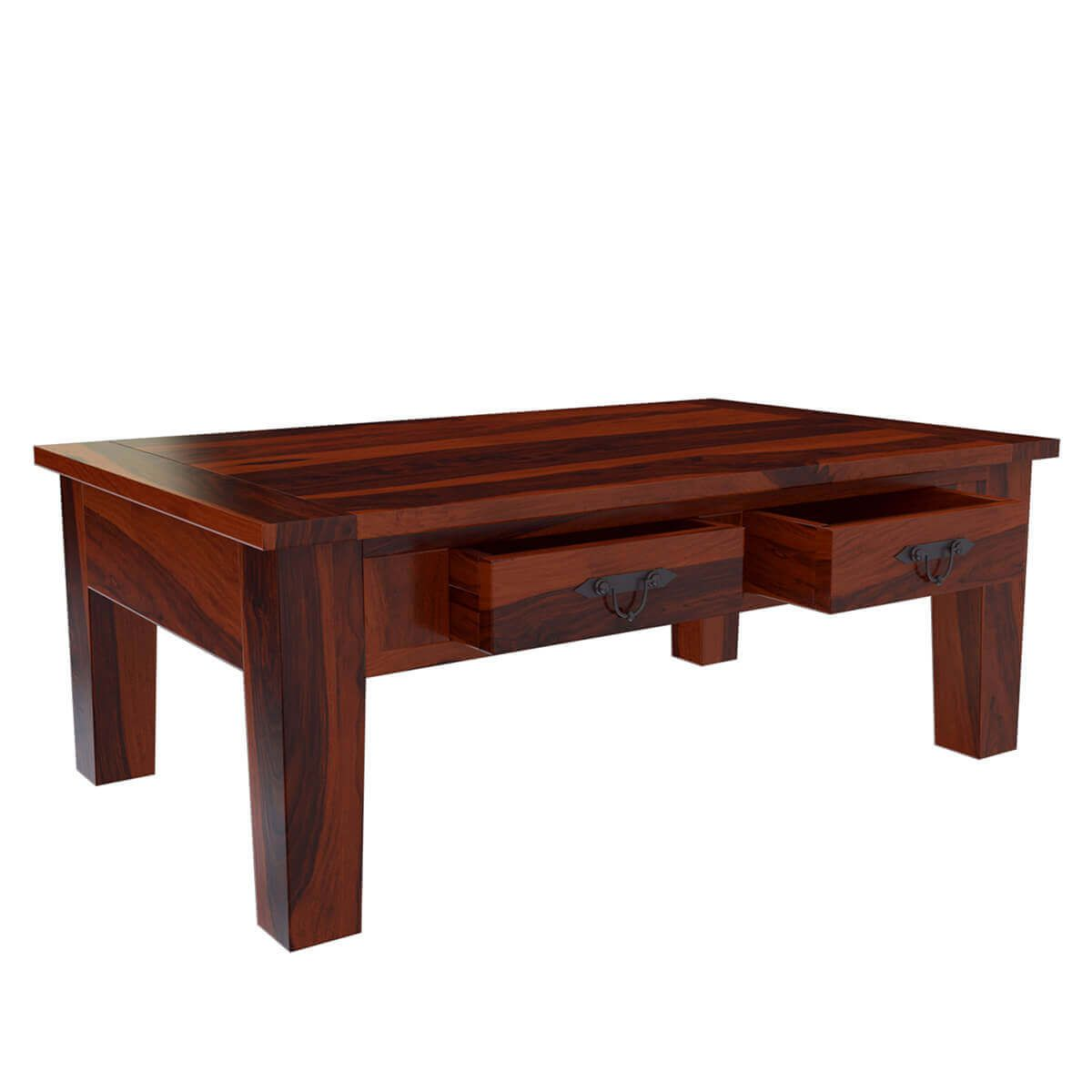 Tierra Rustic Style Solid Wood 3 Piece Coffee Table Set 3 Piece Coffee Table Set Coffee Table Coffee Table Setting [ 1200 x 1200 Pixel ]