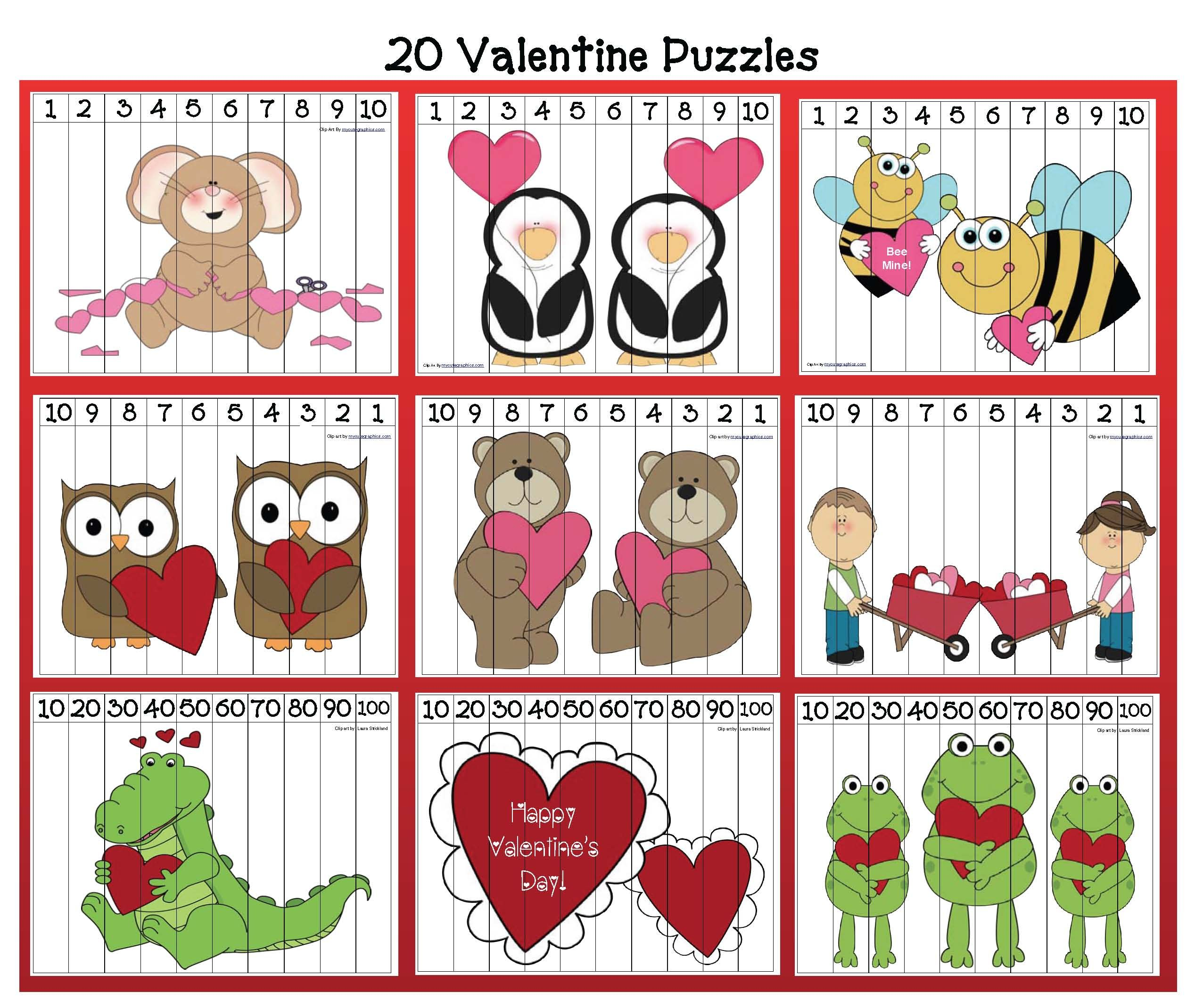Valentine Activities And Other Cool Stuff