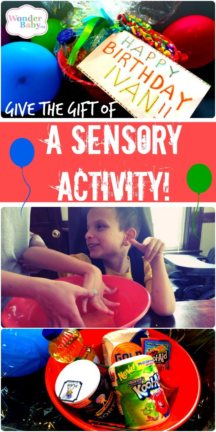 Give The Gift Of A Sensory Activity Sensory Activities