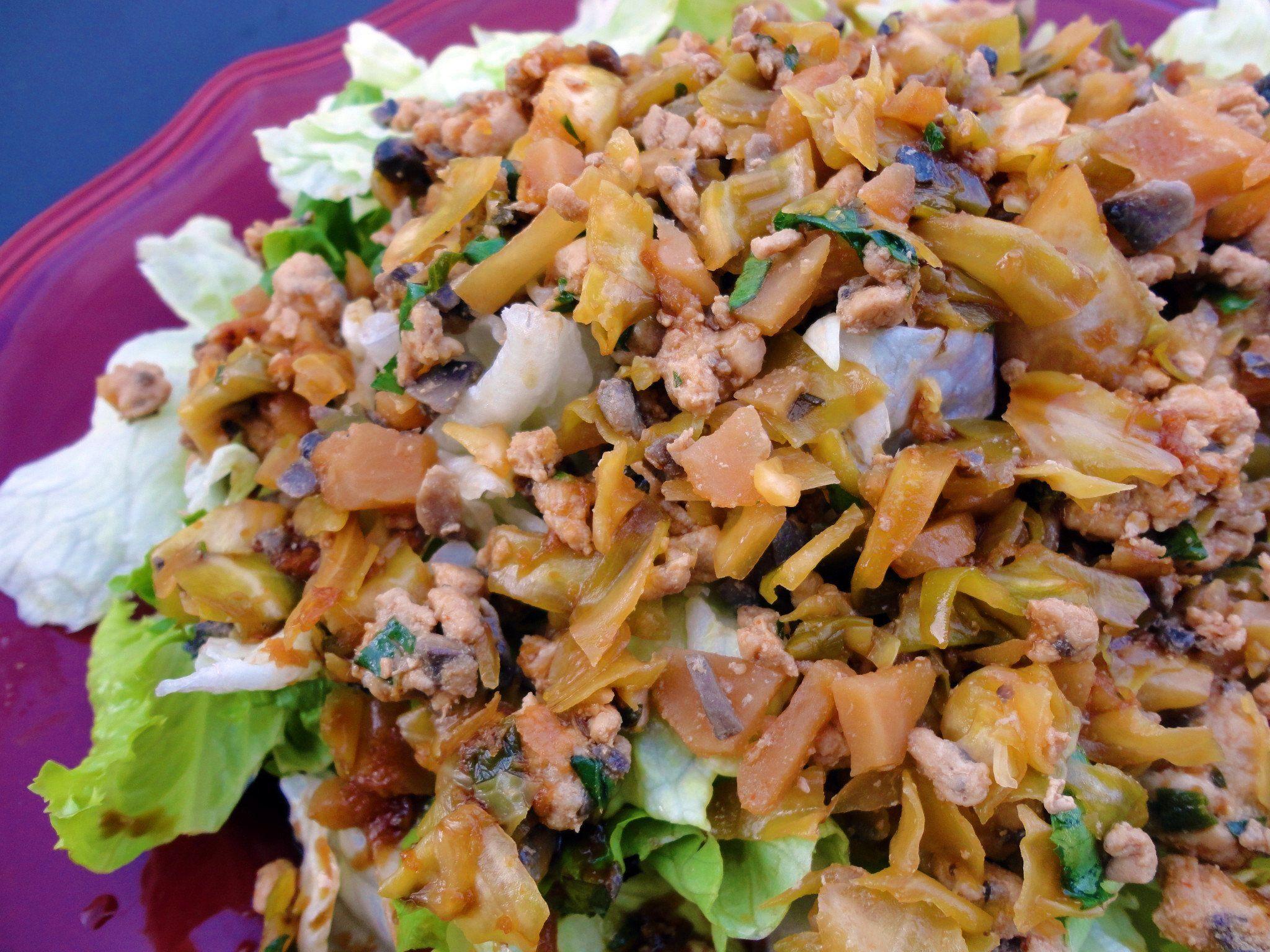 Asian Lettuce Wrap Salad