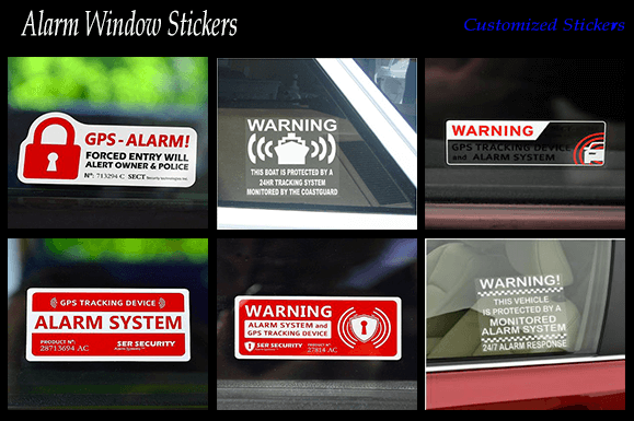 Alarm Window Stickers 5 Reasons You Should Get Them Custom