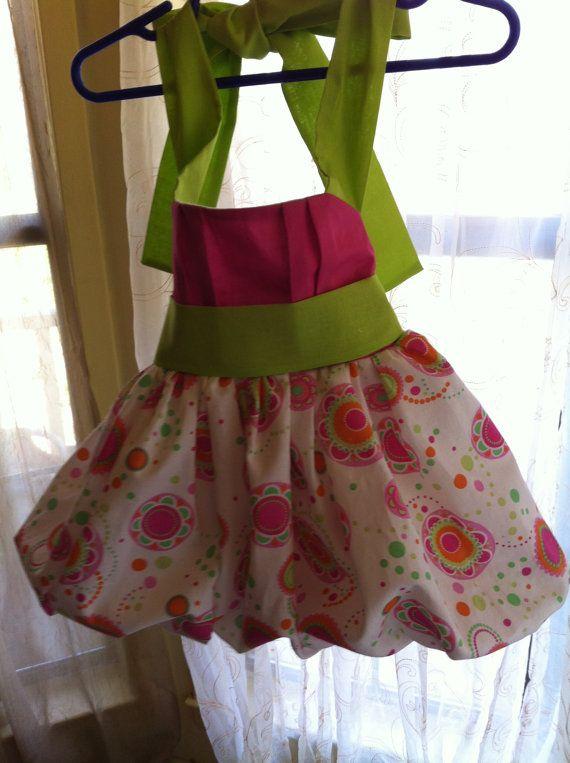 Bubble daisy dress by ChloizzysCloset on Etsy, $25.50