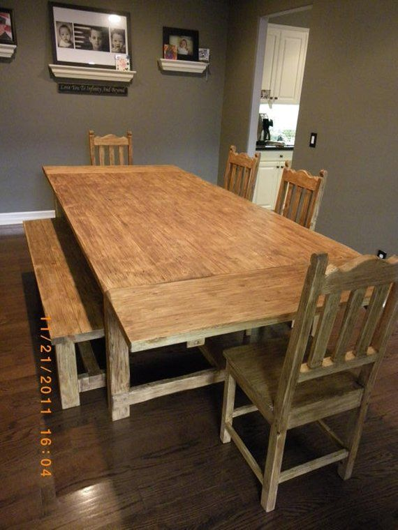 Handcrafted Dining Set Products In 2019 Farm