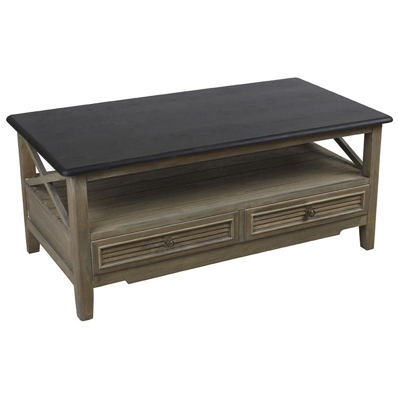 Coffee Table Leather Drawers: Wooden Coffee Table With Drawers Www.inart.com