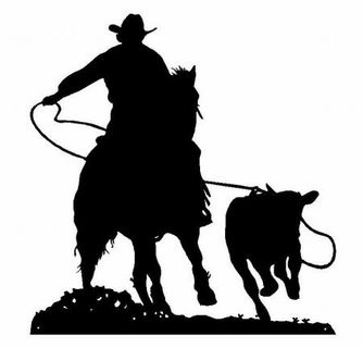 western silhouettes roper 1