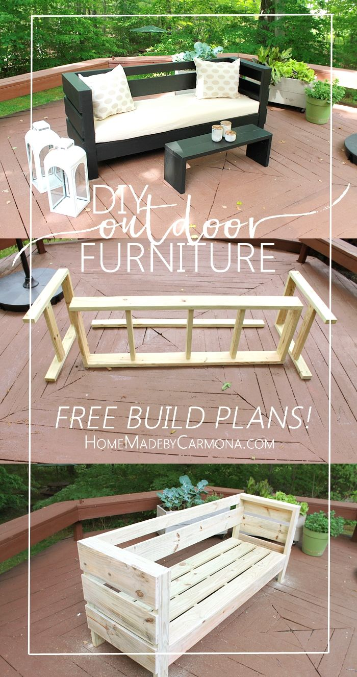 DIY outdoor furniture is a crucial part