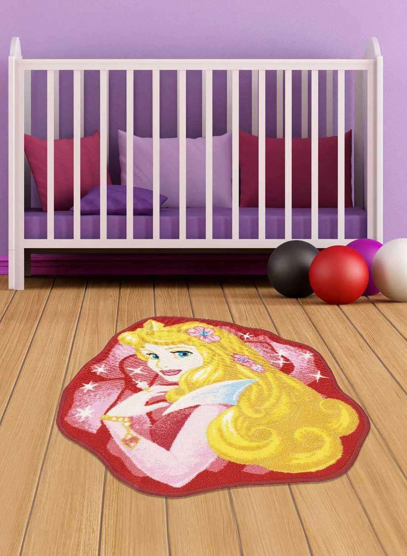 Tapis Princesse Disney Aurora Shaped Rose Ce Tapis Detoure