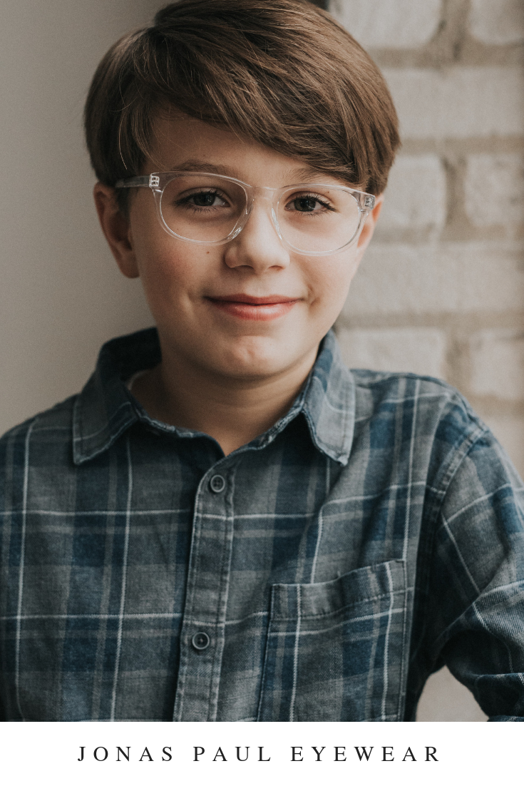 4270f1ba1e6 Stylish boys clear glasses with an impact. These stylish