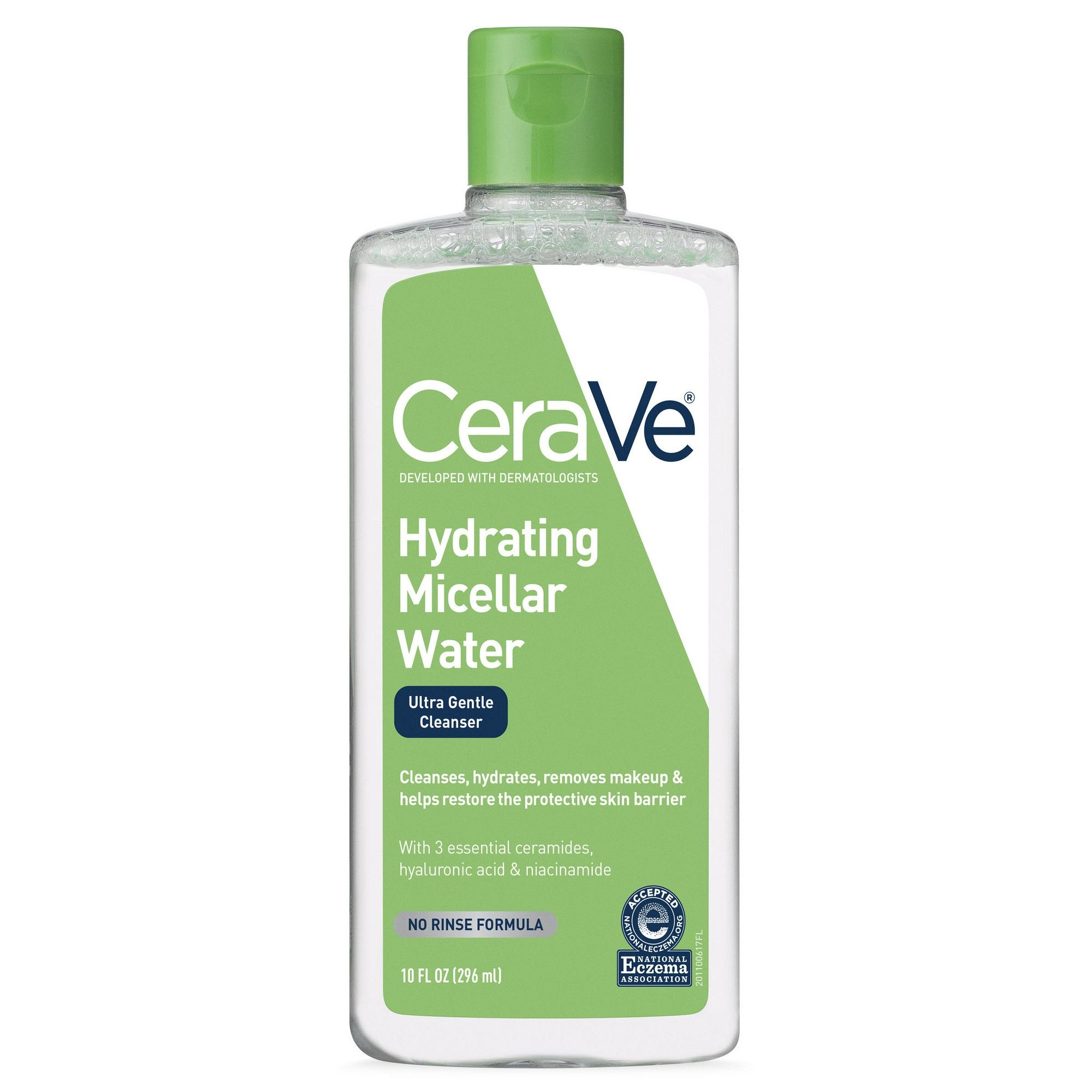CeraVe Hydrating Micellar Cleansing Water, Ultra Gentle