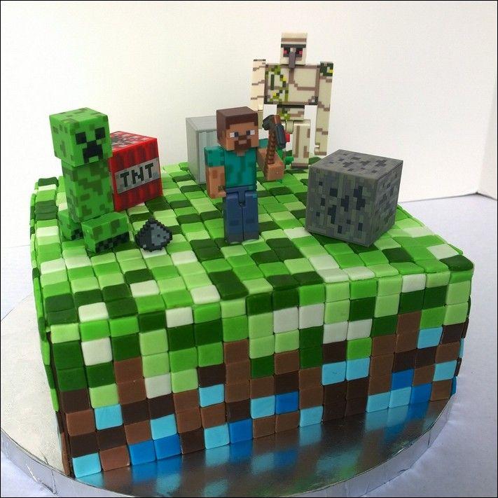 minecraft birthday cake walmart