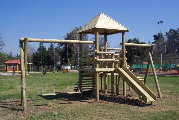 Fotos de juegos infantiles de madera imagui colores for Casas madera ninos jardin