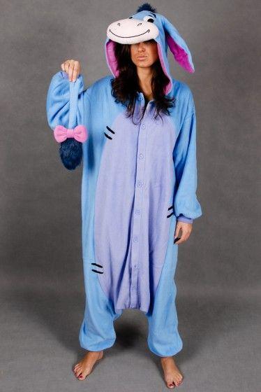 Eeyore Onesie | Eeyore Costume | Eeyore Kigurumi Animal Suit