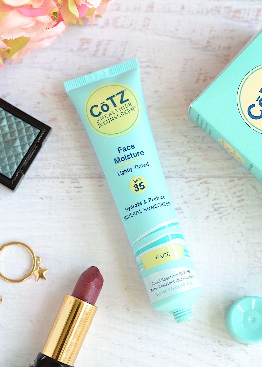 PoreBlurring Primer + Sunscreen! CoTZ Face Moisture