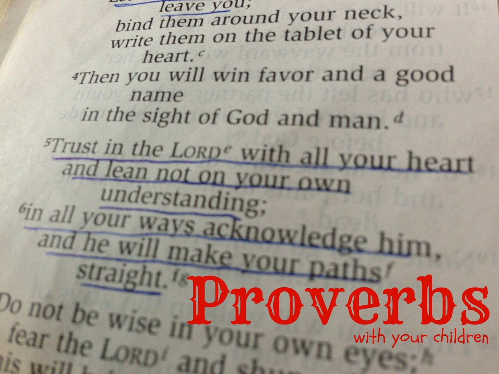 His Mercy is New: Studying Proverbs with my Kids
