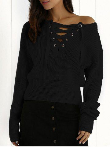 GET $50 NOW | Join RoseGal: Get YOUR $50 NOW!http://www.rosegal.com/sweaters/plunging-neck-long-sleeve-lace-723327.html?seid=6145535rg723327