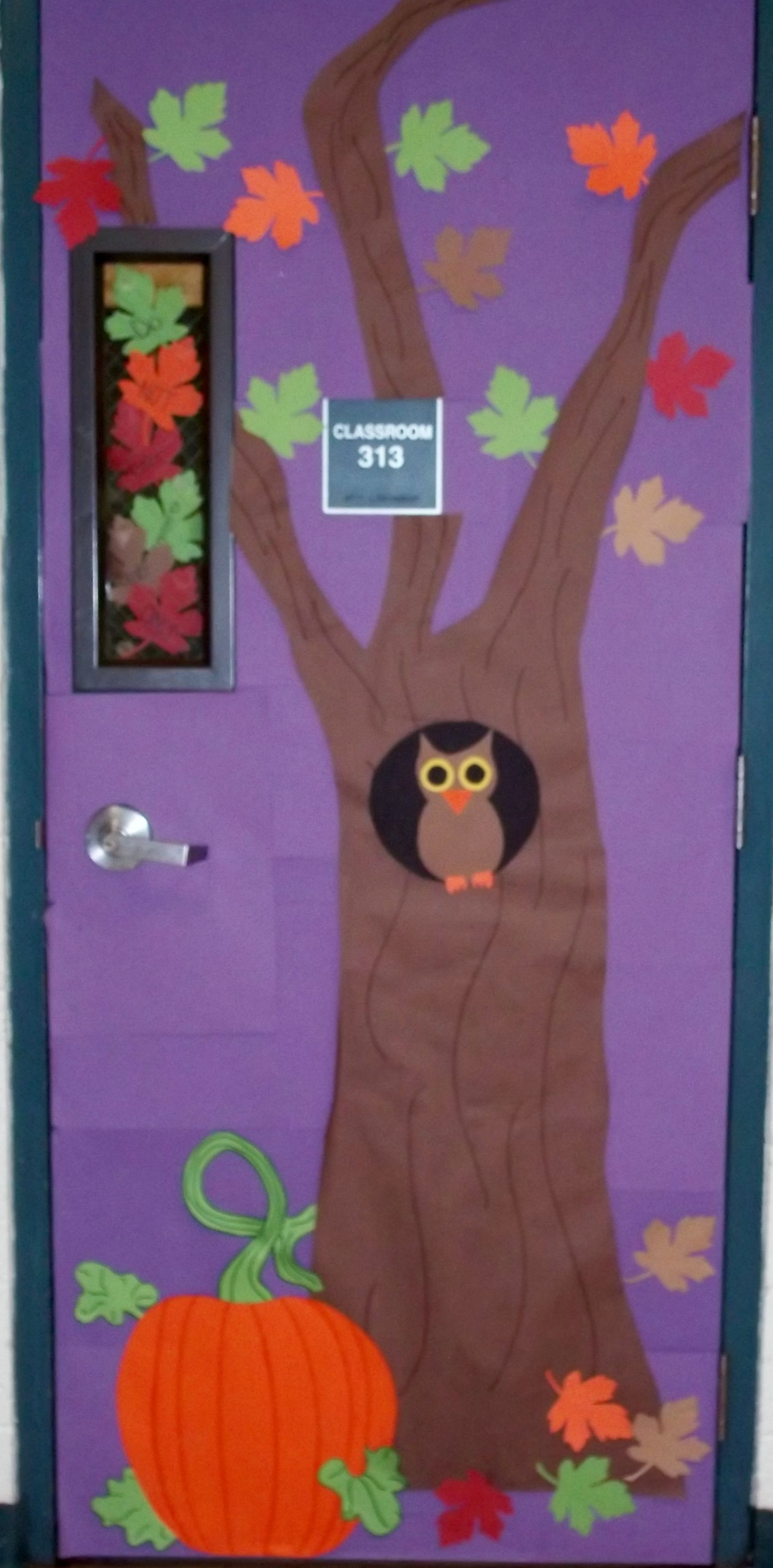 fall door decoration #falldoordecorationsclassroom