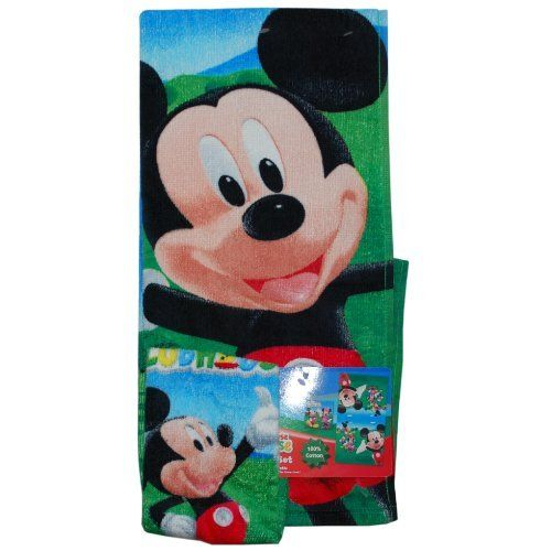Mickey Mouse Cars Toy Story Bath Sets By Disney 19 21 The Towel And Washcloth Set Is Here To Delight Your Child At Time