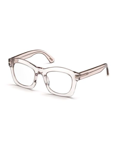 c723466d0f40f Greta Square Optical Frames Transparent Pink