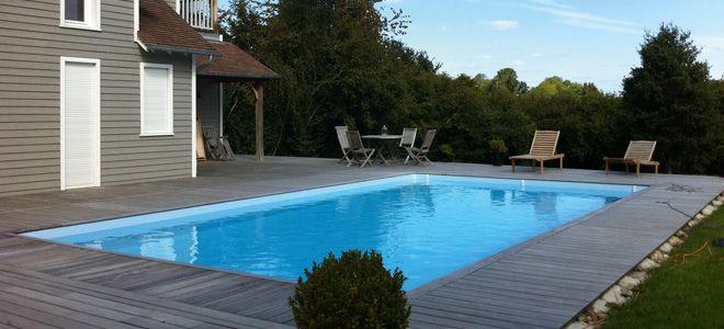 Superior Rectangular Wood Pool, Inground And Semi Buried Wood Pools