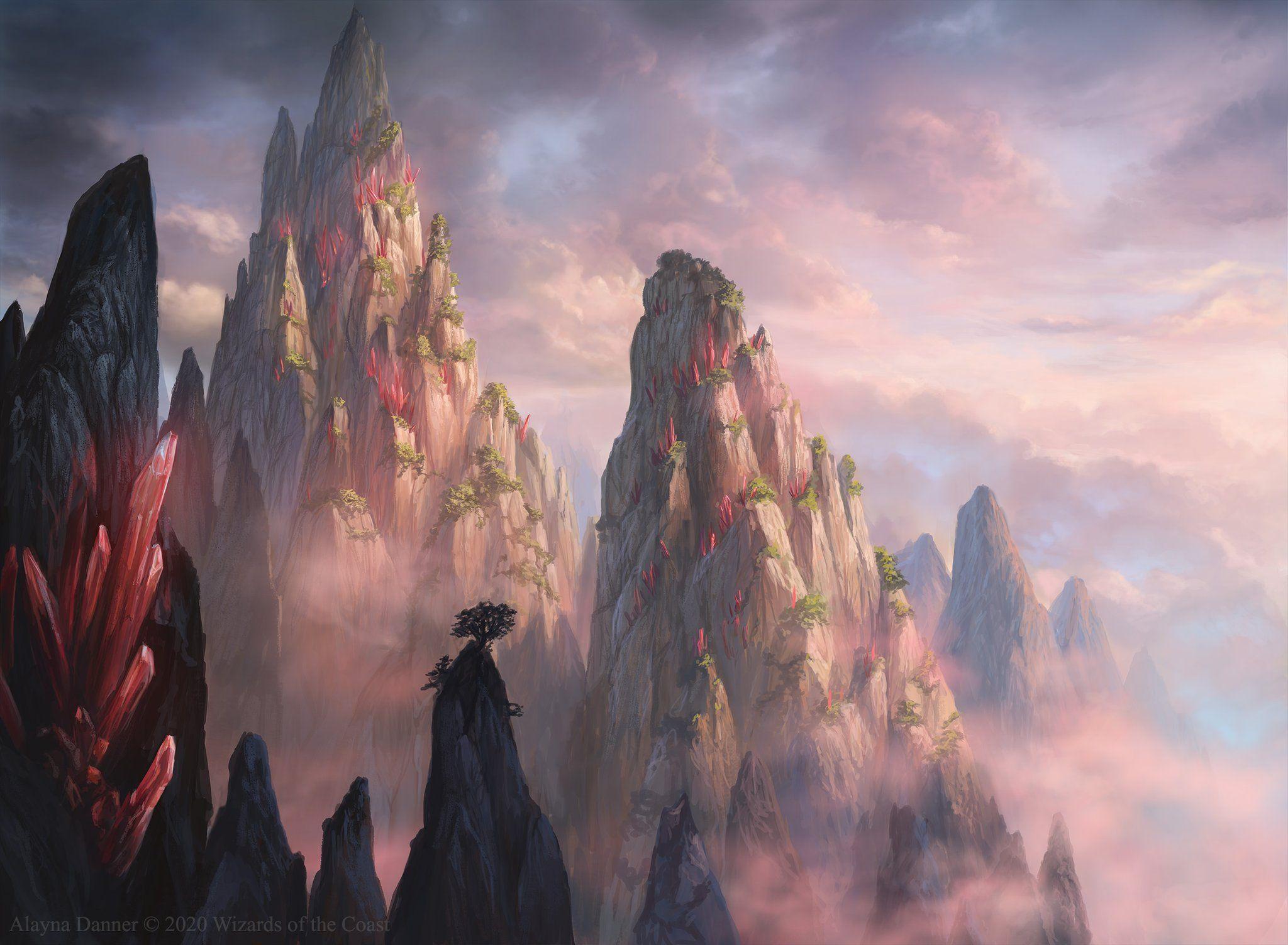Mountain ikoria mtg art in 2020 mtg art the gathering