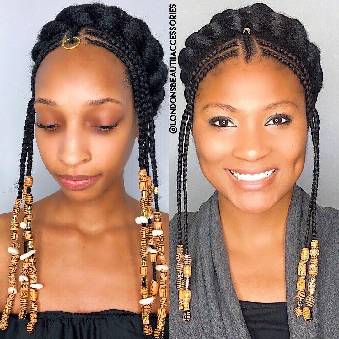 tribal cornrows braids