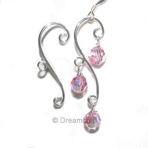 2x Sterling Silver Leaf Chandelier Earring Connector | Chandelier ...