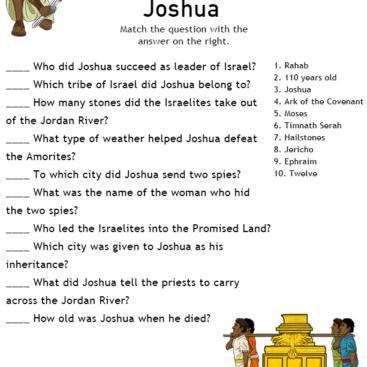 Teen Bible Quizzes 27