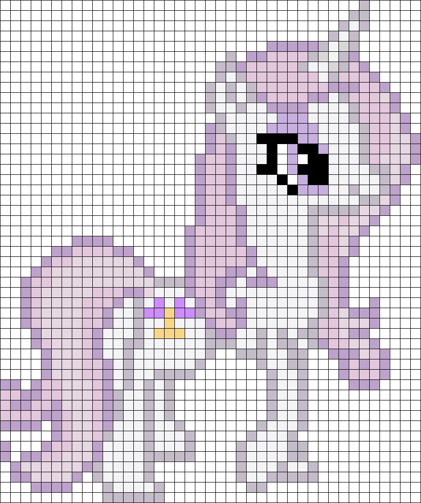 Fleur De Lis My Little Pony perler bead pattern | AnnaLena ...