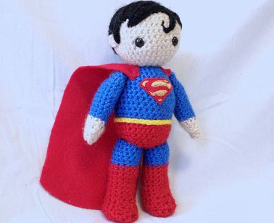 Amigurumi Crochet Personajes : Personajes de ficción superman amigurumi crochet and amigurumi