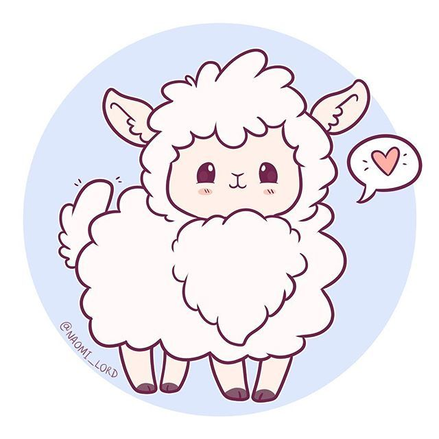 Картинки овечки для срисовки