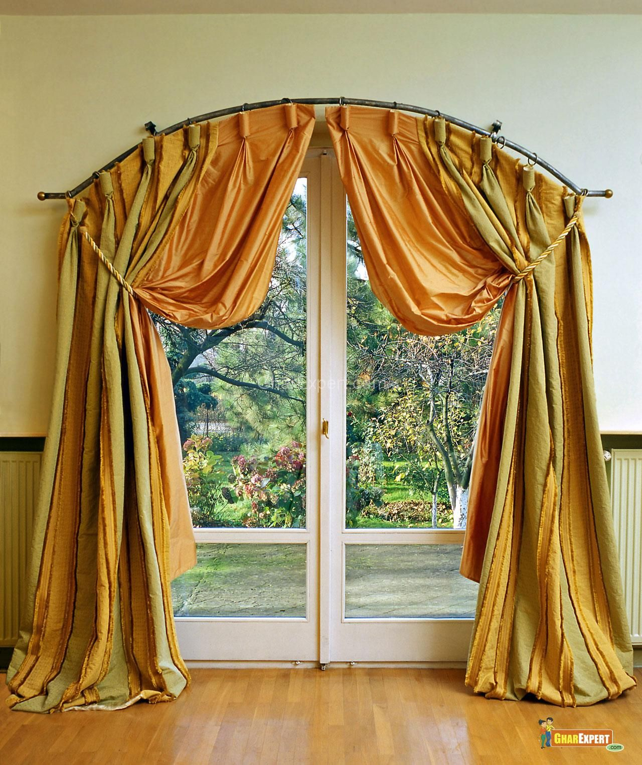 Curtains, Door Curtains And Curtain Ideas On Pinterest