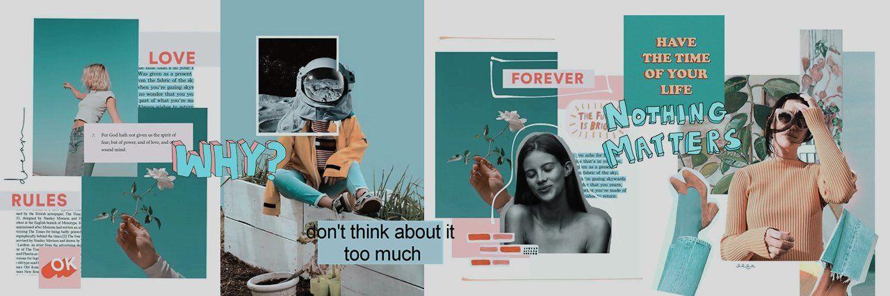 Pin de két en Aesthetic/Collage headers | Encabezado de ...