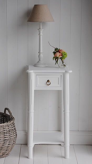 The White Cottage Bedside Tables Range Of Sizes And